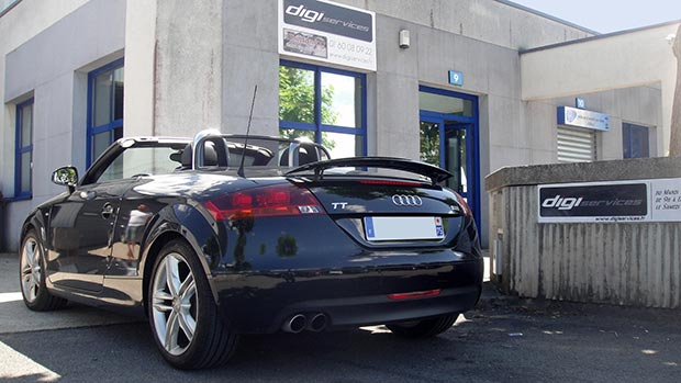 reprogrammation moteur audi tt cab tfsi 200 a 250 cv digiservices. Black Bedroom Furniture Sets. Home Design Ideas