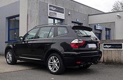 BMW X3 bandeau