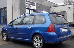 Peugeot 307 2.0 hdi 110bandeau