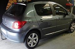 Peugeot 307 hdi 136 bandeau