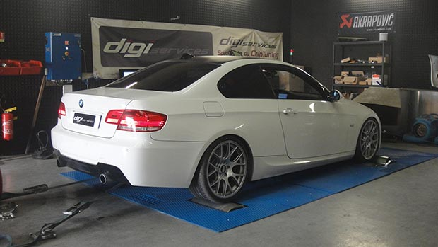 BMW 335d STAGE 2 bl