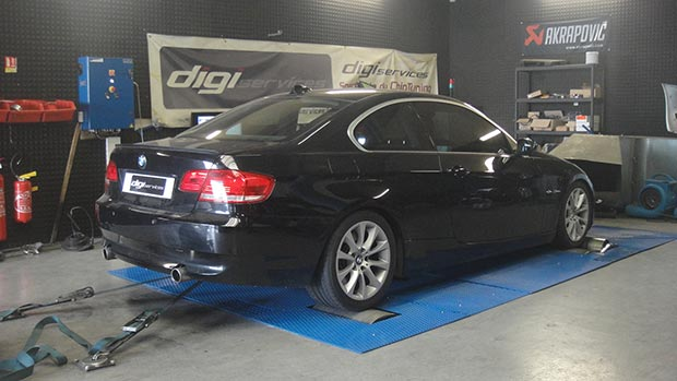 BMW 335d STAGE 2 noir