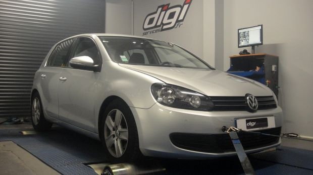 reprogrammation moteur vw golf 6 2 0 tdi 110 digiservices. Black Bedroom Furniture Sets. Home Design Ideas
