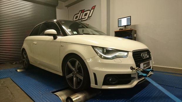 reprogrammation moteur sur une audi a1 1 4 tfsi 185 dsg digiservices. Black Bedroom Furniture Sets. Home Design Ideas