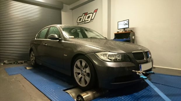 reprogrammation moteur sur une bmw 325d de 197cv digiservices. Black Bedroom Furniture Sets. Home Design Ideas